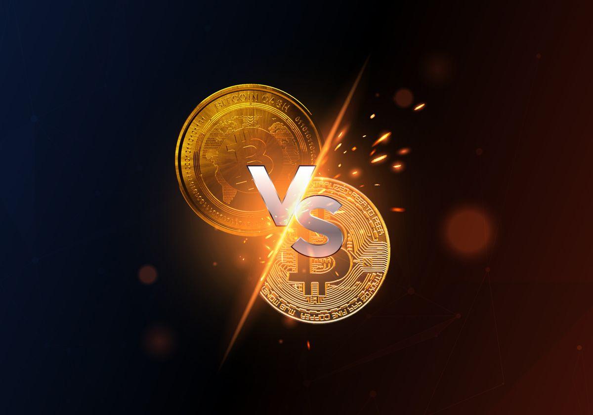 Nazwa: Bitcoin vs Bitcoin Cash.jpg Wyświetleń: 483  Rozmiar: 57.6 Kb